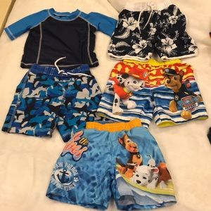 2T swimming bundle total 5 items